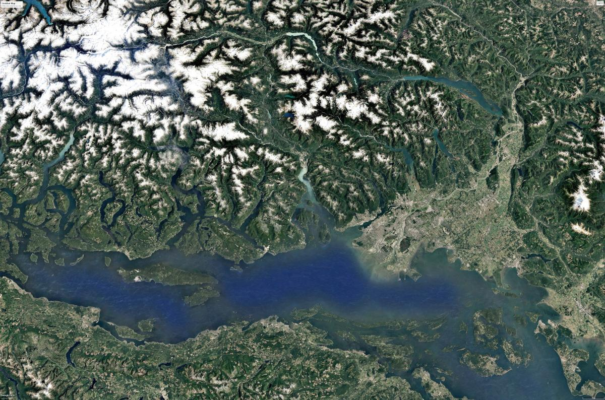 The South Coast of BC: 2 million + people (and growing) vying for space in one of BC's most biodiverse regions!